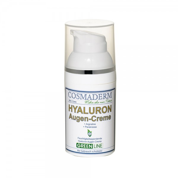 Hyaluron Augencreme, Airless Dispenser, 30 ml