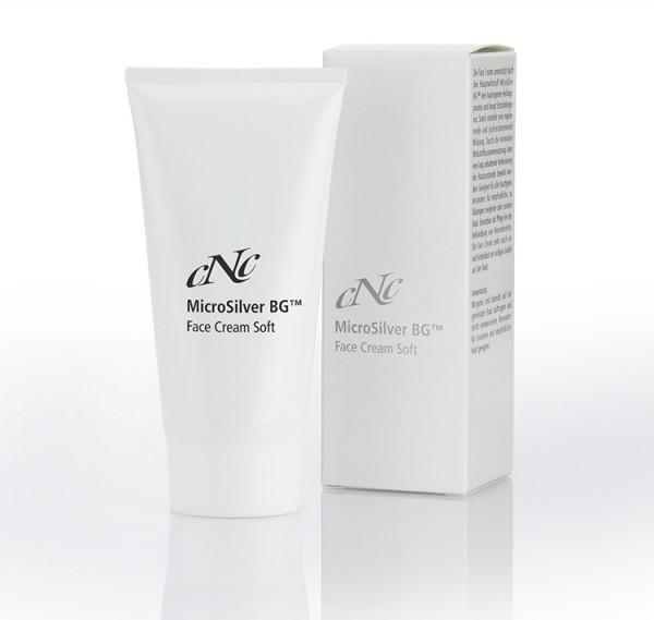 MicroSilver Face Cream Soft, 50 ml - CNC cosmetic