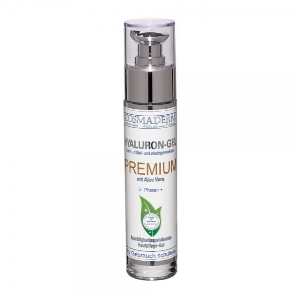Hyaluron-Gel Premium, Glaspumpspender, 50 ml